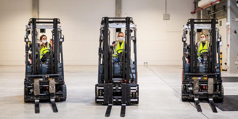 Nowy magazyn tranzytowy w Centrum Dystrybucji IKEA w Jarostach już otwarty