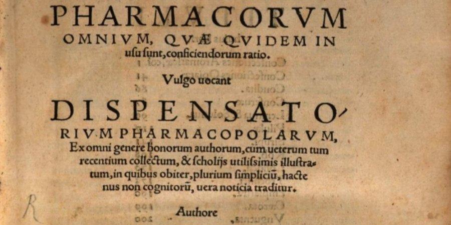 Na początku były antidatoria - historia farmakopei