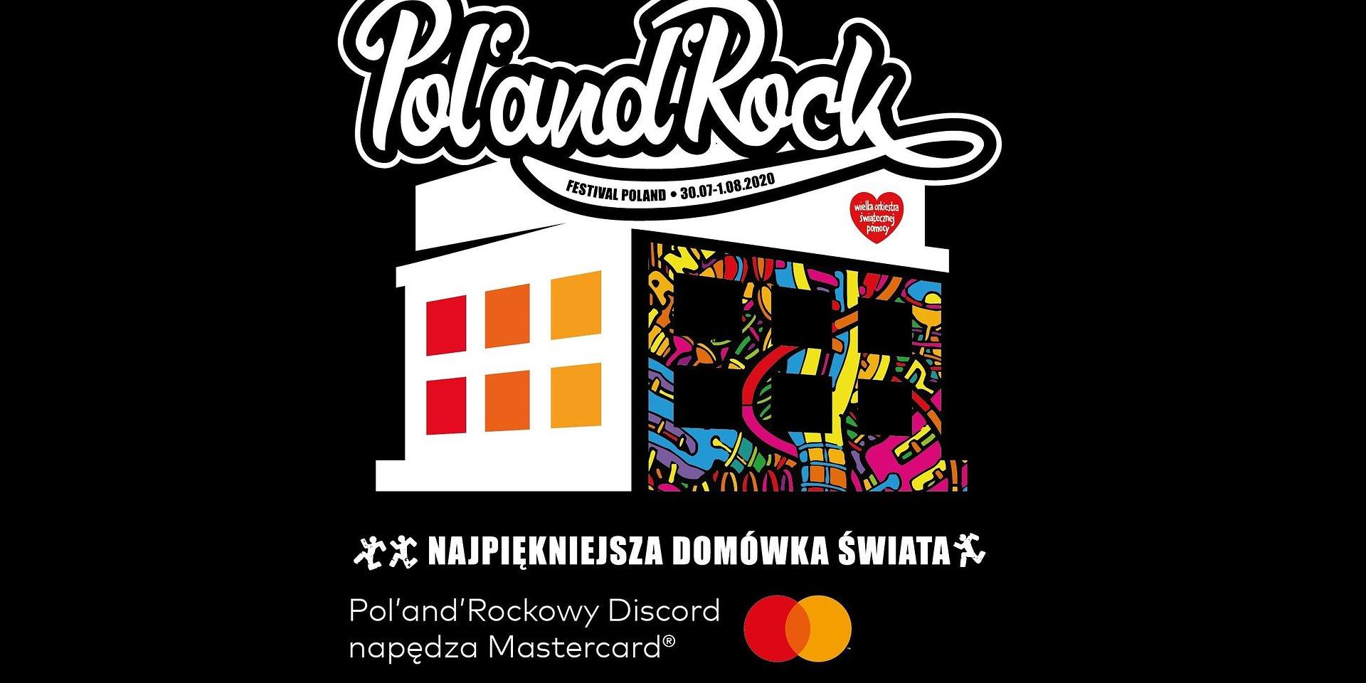 Mastercard na 26. Pol'and'Rock Festival Online - Najpiękniejszej Domówce Świata