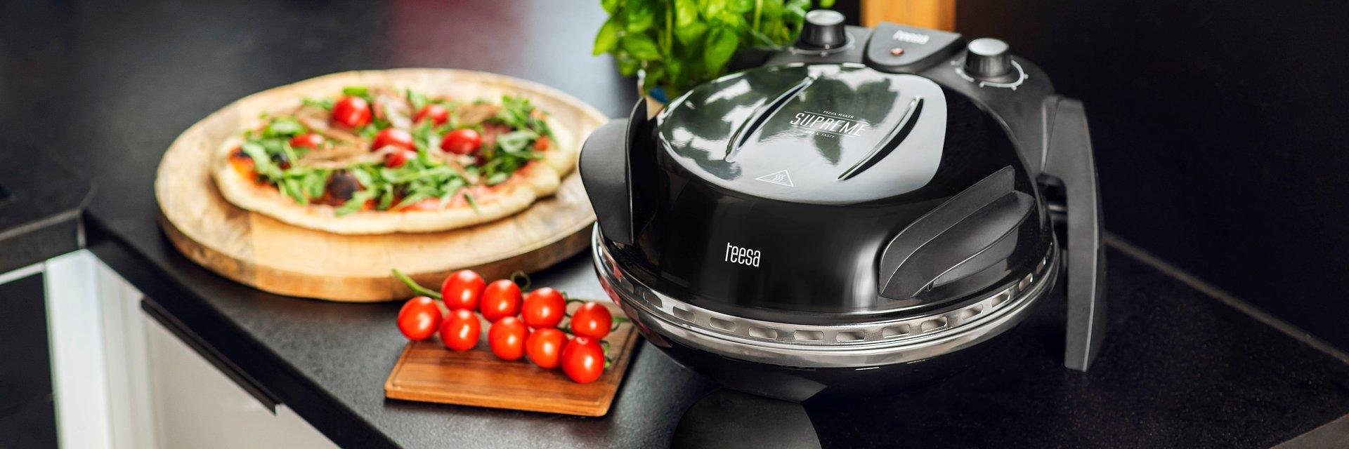 Domowa pizza w kilka minut – nowy piec do pizzy Teesa SUPREME