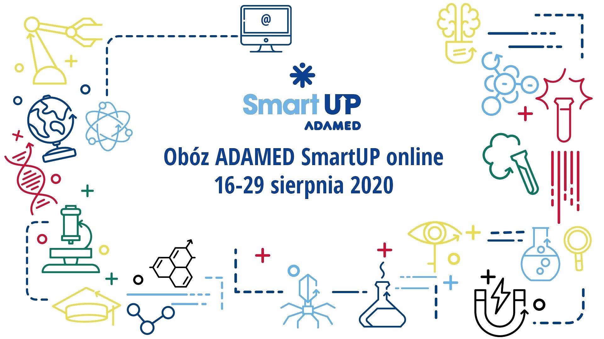 Utalentowani uczniowie wcześniej wracają do nauki – sierpniowy obóz ADAMED SmartUP