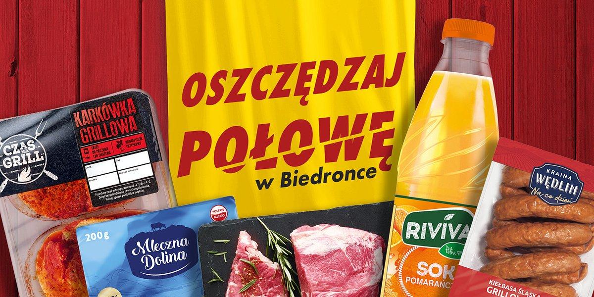 Z Biedronką przygotuj się na niehandlowy weekend za połowę ceny i przez całą dobę!