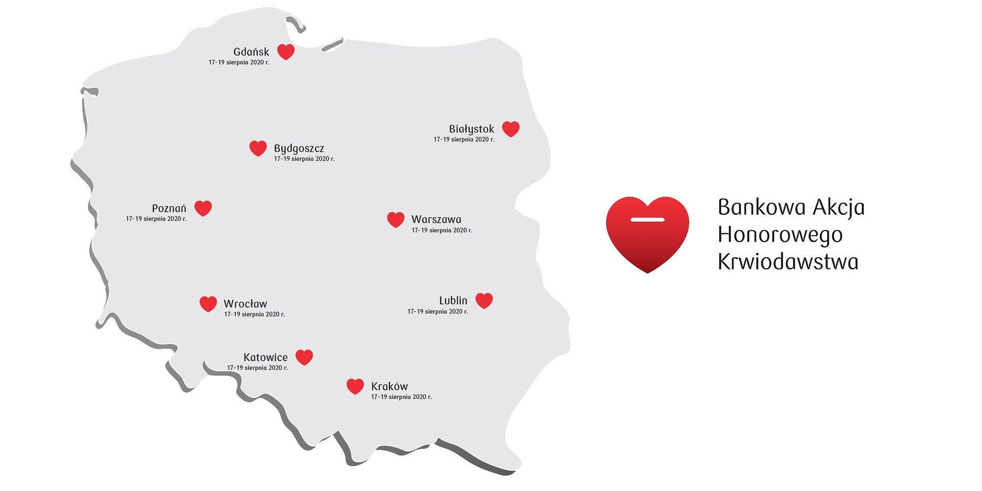 Przyłącz się do Bankowej Akcji Honorowego Krwiodawstwa w Poznaniu