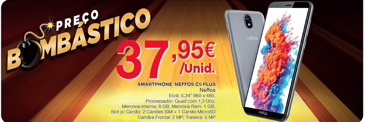 Sim, é possível ter um smartphone por menos de 40 euros… no Intermarché!