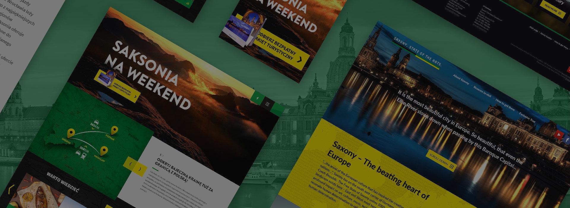 Destination marketing for Saxony land, Germany