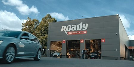 Centros-auto Roady chegam à televisão