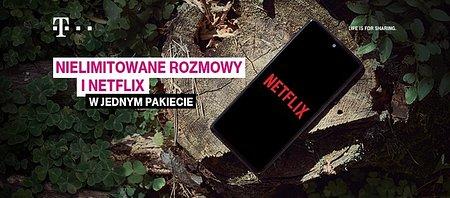 Nielimitowane rozmowy od T-Mobile i dostęp do Netflix w jednym pakiecie, a Netflix na 6 miesięcy w prezencie