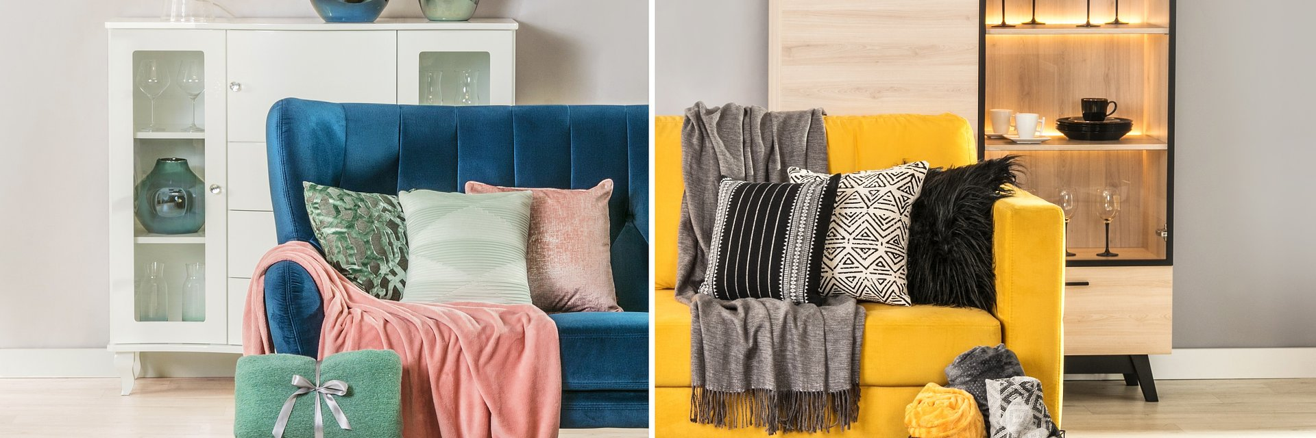 Must have do salonu: meble wypoczynkowe i tekstylia