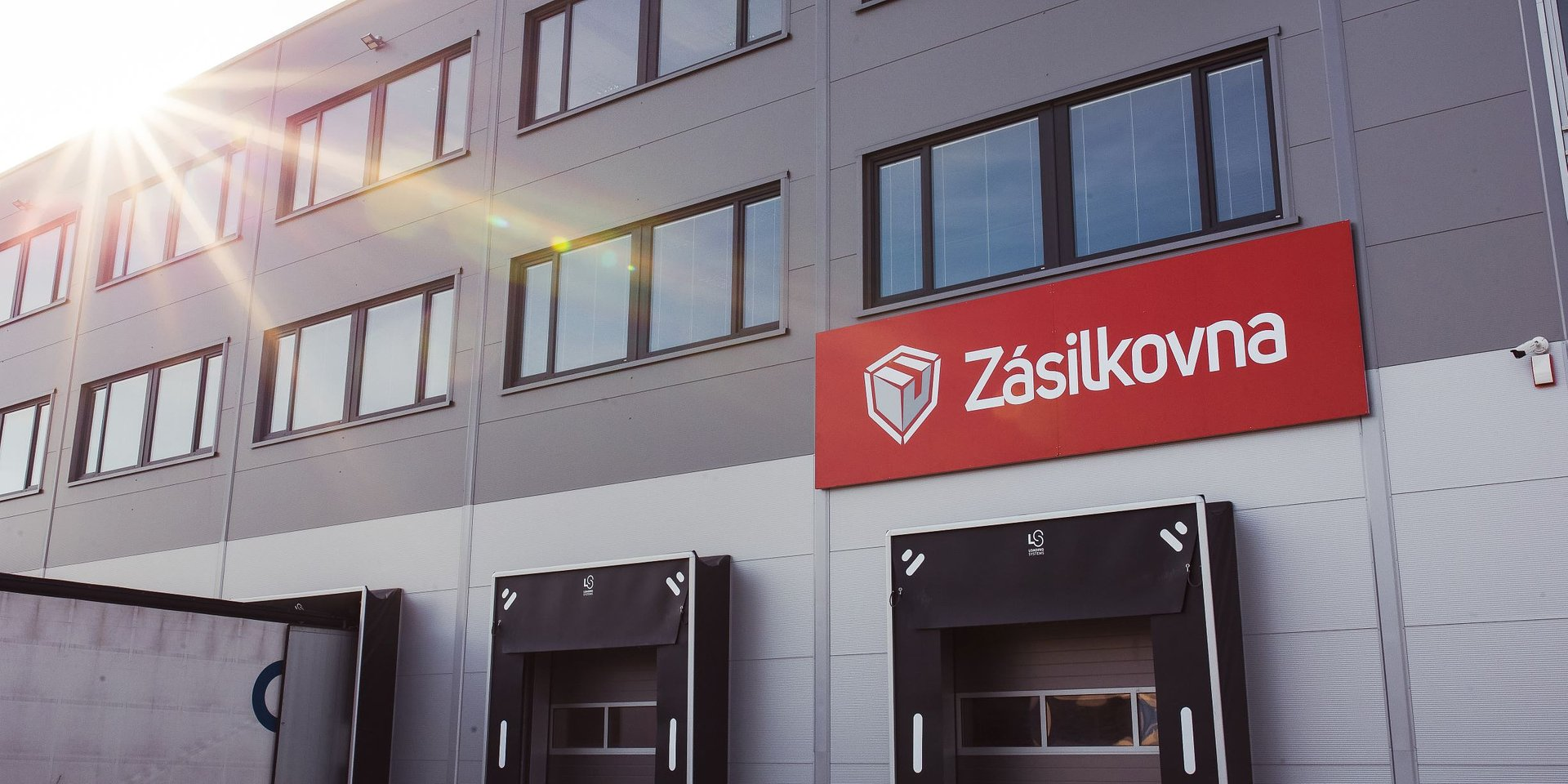 Zajistili jsme skladové prostory pro nové depo Zásilkovny u Jihlavy
