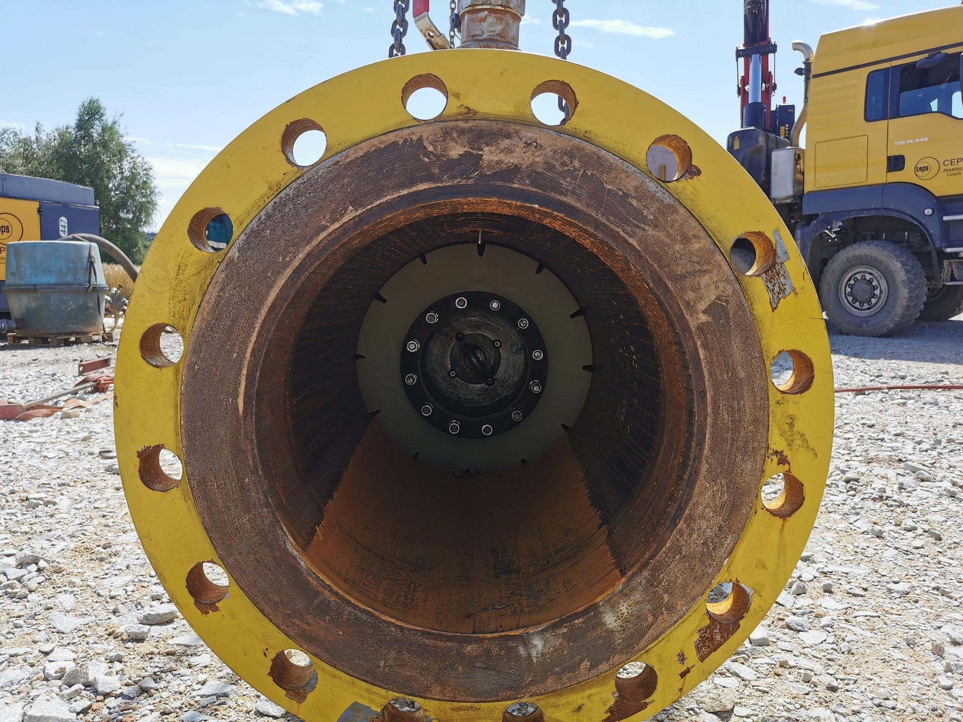Naftoserwis przeprowadził inspekcję rurociągów w Czechach