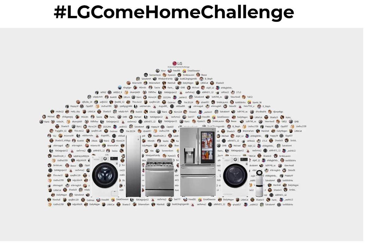 """Kampania """"Come Home Challenge"""" firmy LG pokazuje wartość rodziny i wspiera potrzebujących"""