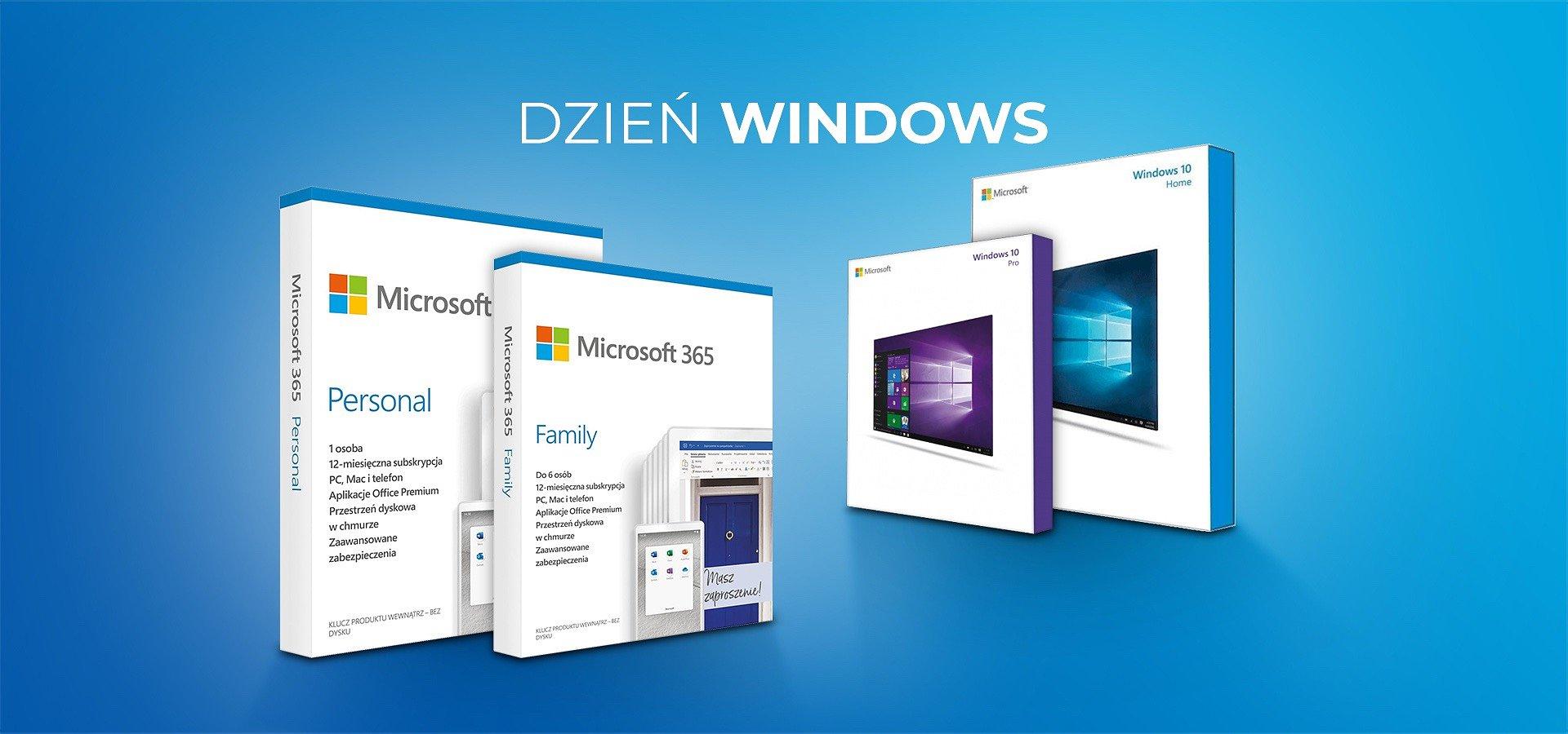 Świętuj Dzień Windowsa i odbierz rabat na nowy system operacyjny!