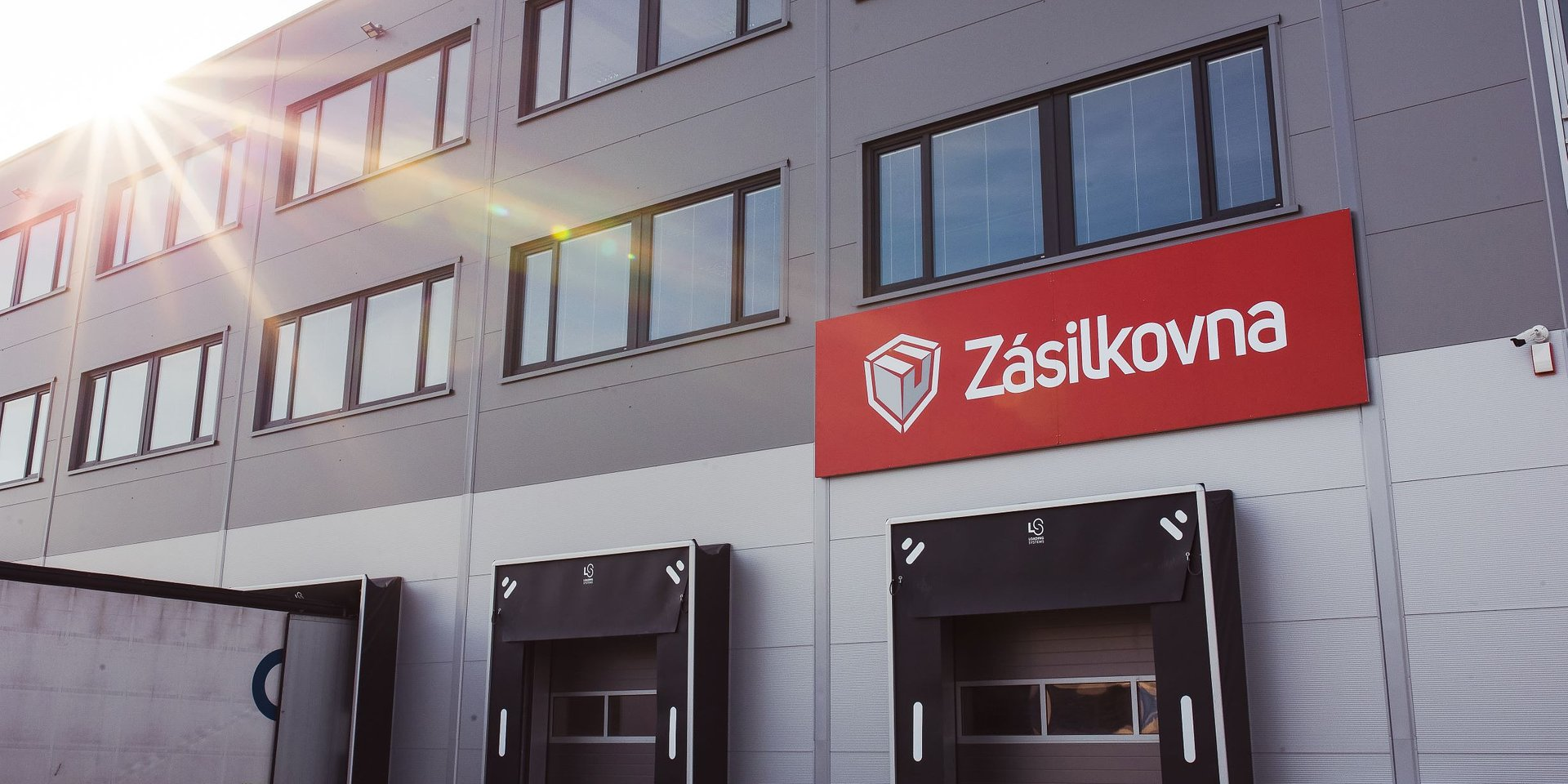 We secured warehouse space for the new Zásilkovna depot in Jihlava