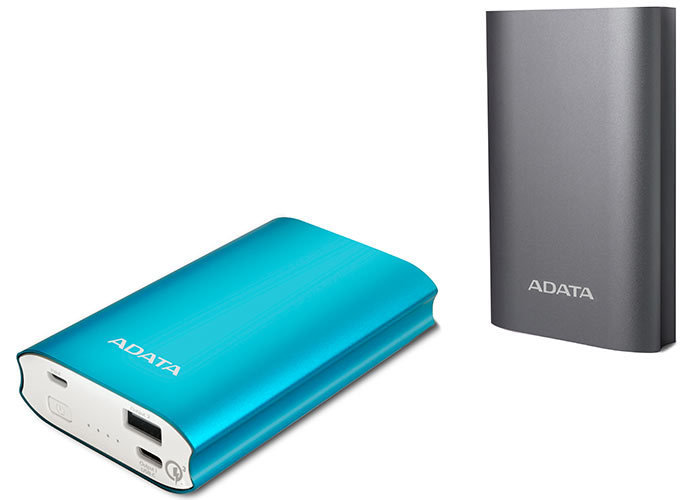 Powerbank ADATA A10050QC. Od zera do 80% w 30 minut