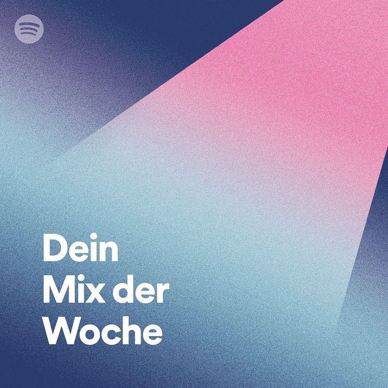 """Spotify bietet Sponsoring der Playlist """"Dein Mix der Woche"""""""
