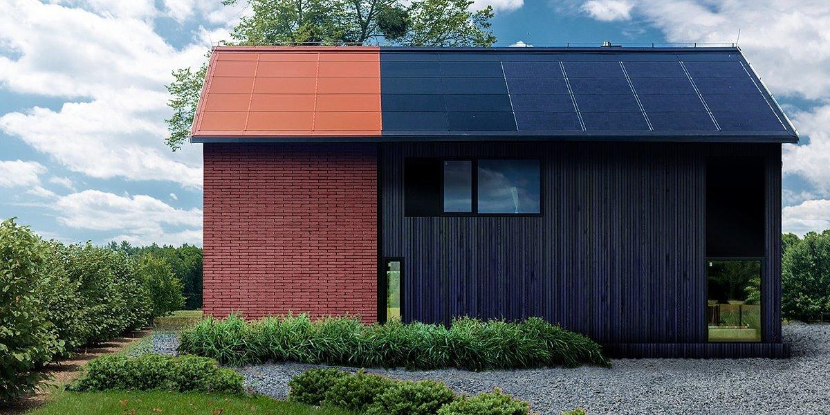 Kolorowy dach solarny od SunRoof