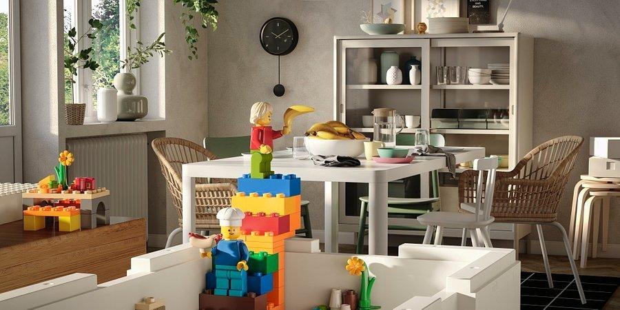 IKEA i Grupa LEGO przedstawiają kolekcję BYGGLEK – kreatywne rozwiązanie do przechowywania i zabawy