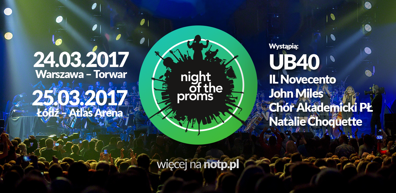 Night of the Proms ponownie w Polsce. Pierwszą gwiazdą polskiej edycji – legendarny zespół UB40