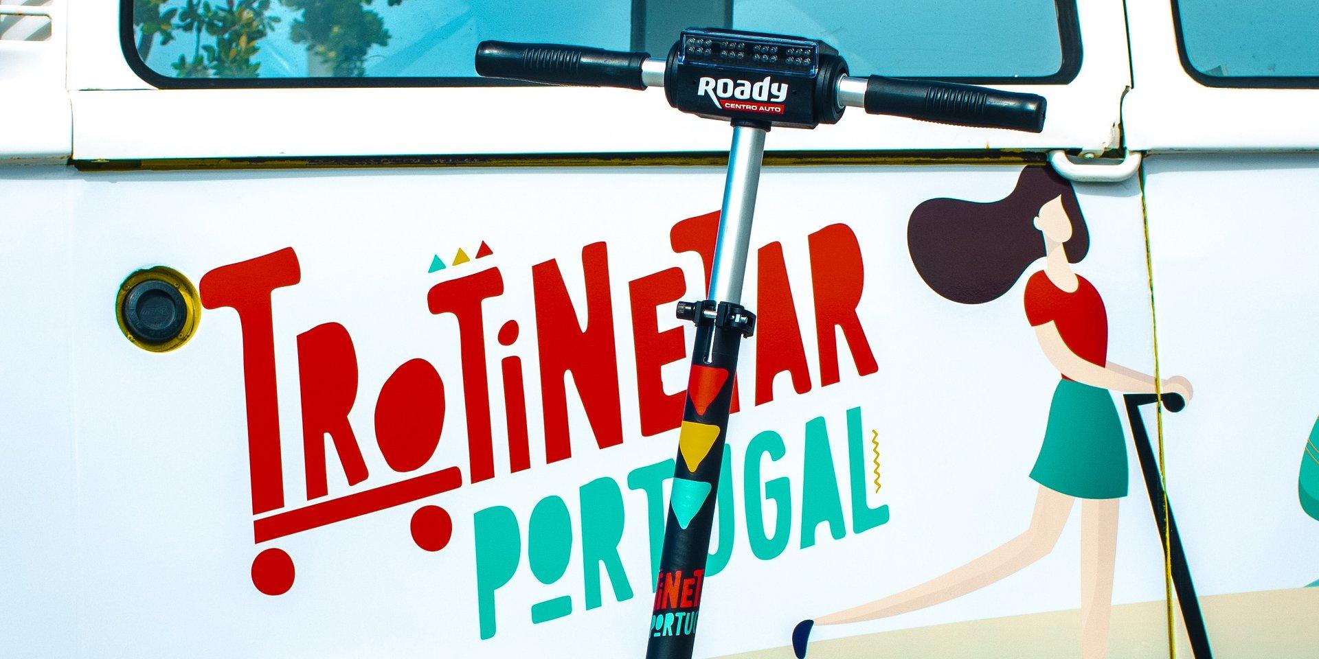 """""""Trotinetar Portugal"""" chega a Portimão à boleia dos centros-auto Roady"""