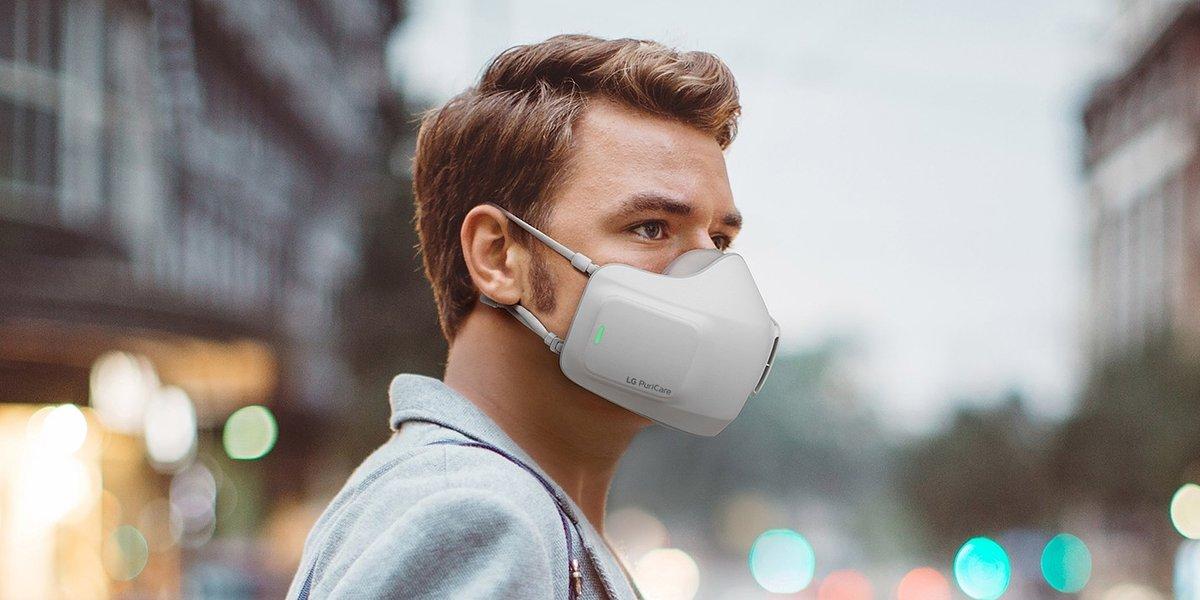 IFA 2020: LG wprowadza rewolucyjny osobisty oczyszczacz powietrza PuriCare™ Wearable