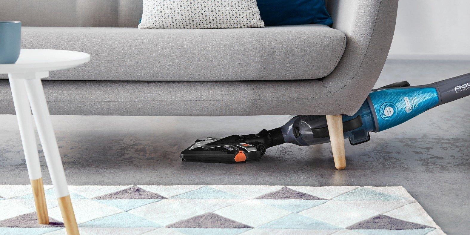 Aspiradores verticais Rowenta para uma limpeza funcional e eficiente