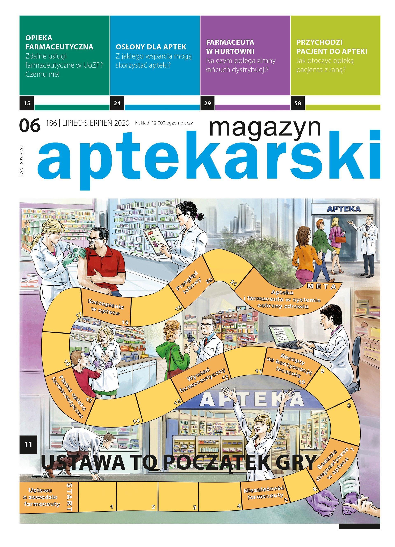 """""""Magazyn Aptekarski"""", lipiec-sierpień 2020"""