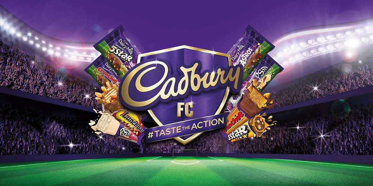 #TasteTheAction with Cadbury and Five Legendary English Football Clubs