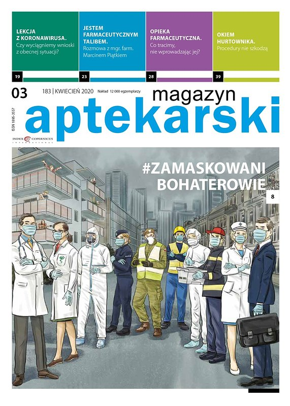"""""""Magazyn Aptekarski"""", kwiecień 2020"""