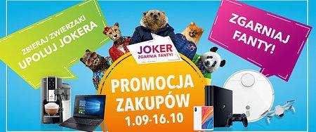 """""""Joker (znowu) zgarnia fanty"""" w Alfa Centrum Białystok. Rusza kolejna edycja wyjątkowej Promocji Zakupów!"""