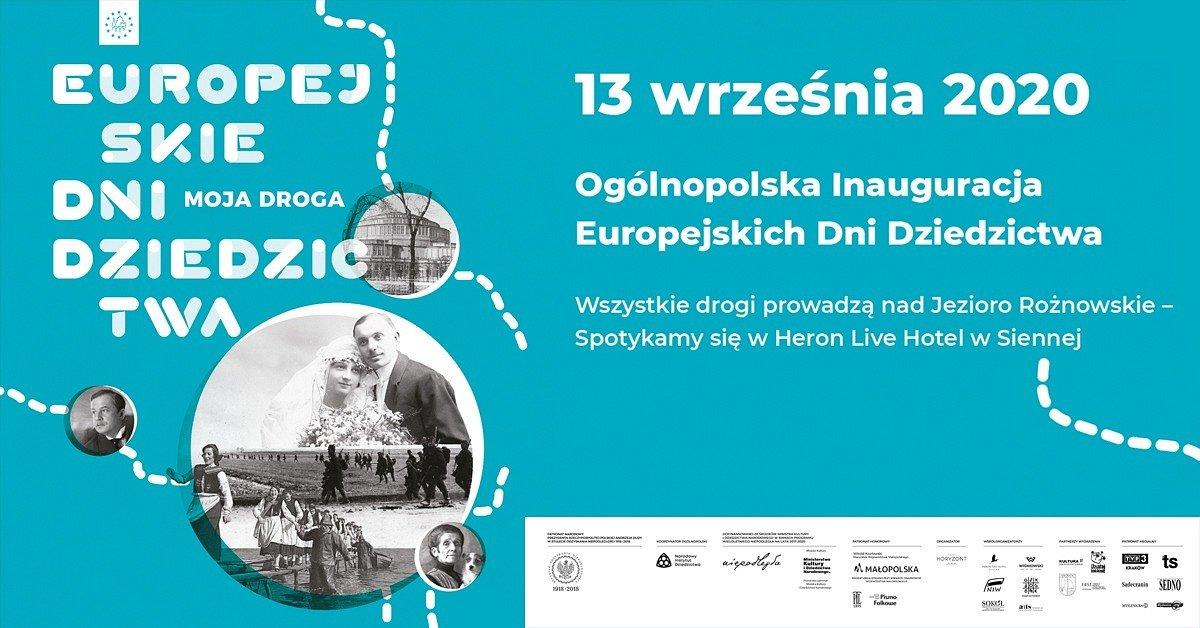 Ogólnopolska Inauguracja Europejskich Dni Dziedzictwa 2020