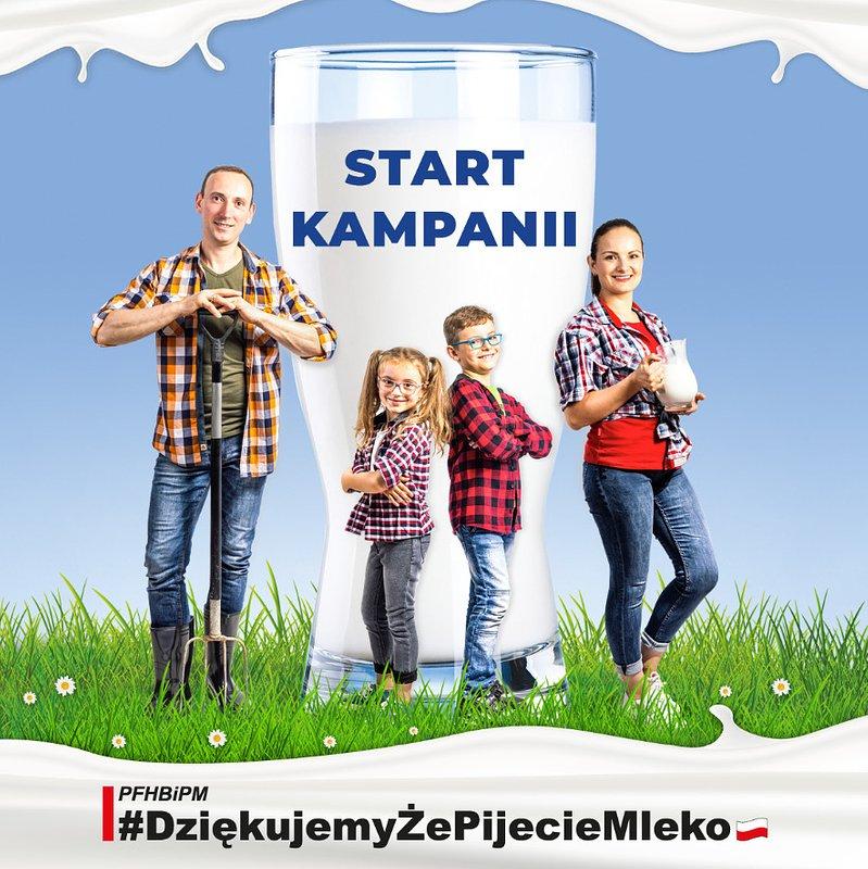 Co stoi za polskim mlekiem? Na to pytanie odpowie kampania #DziękujemyŻePijecieMleko
