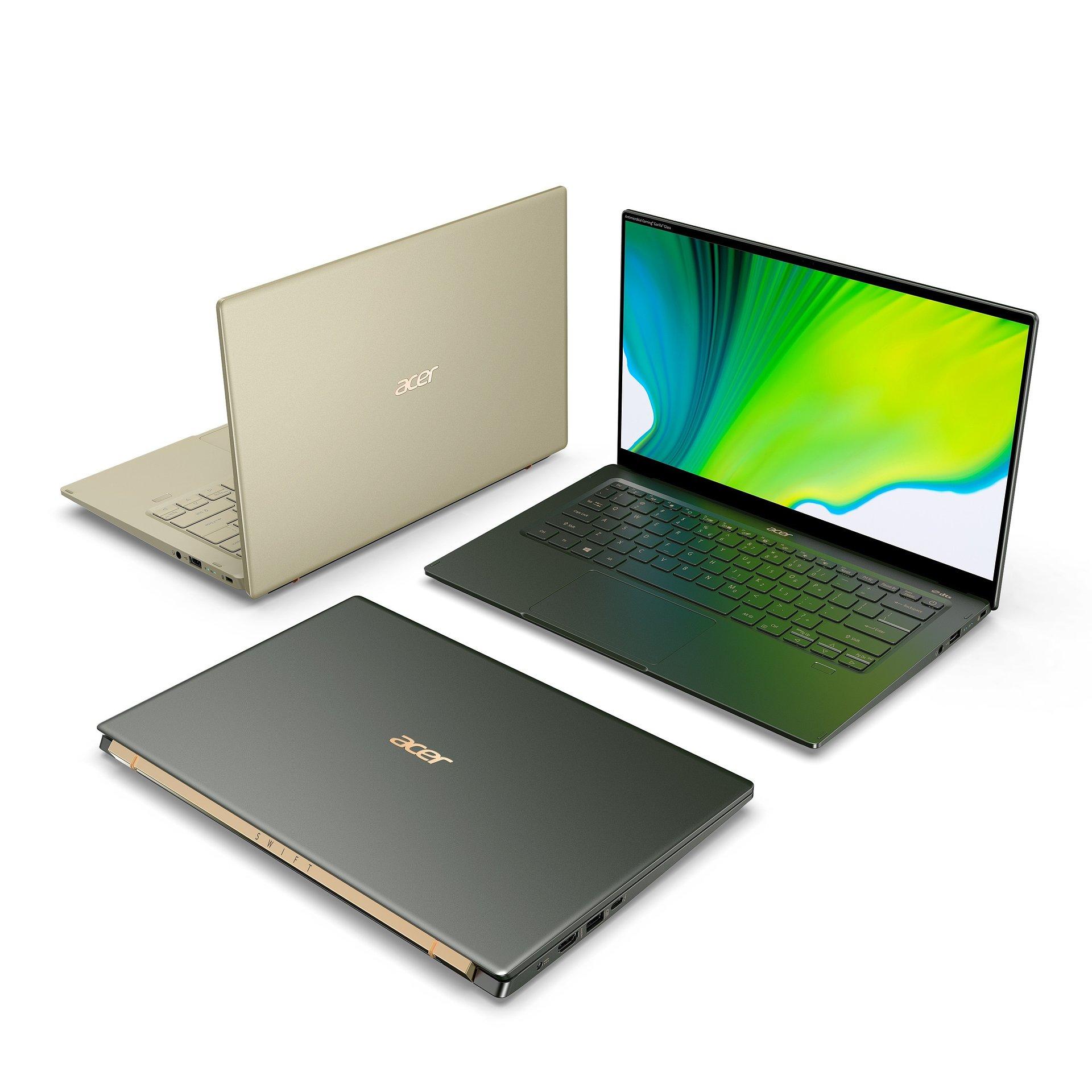 Poznaliśmy ceny laptopów Acer Swift 5 i Swift 3 z procesorami Intel Core 11. generacji
