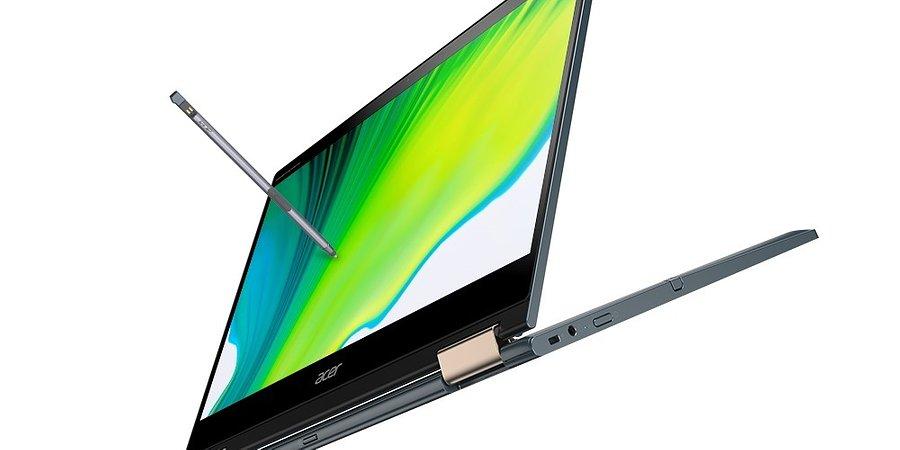 Nowy notebook Acer Spin 7 z procesorem Snapdragon 8cx drugiej generacji