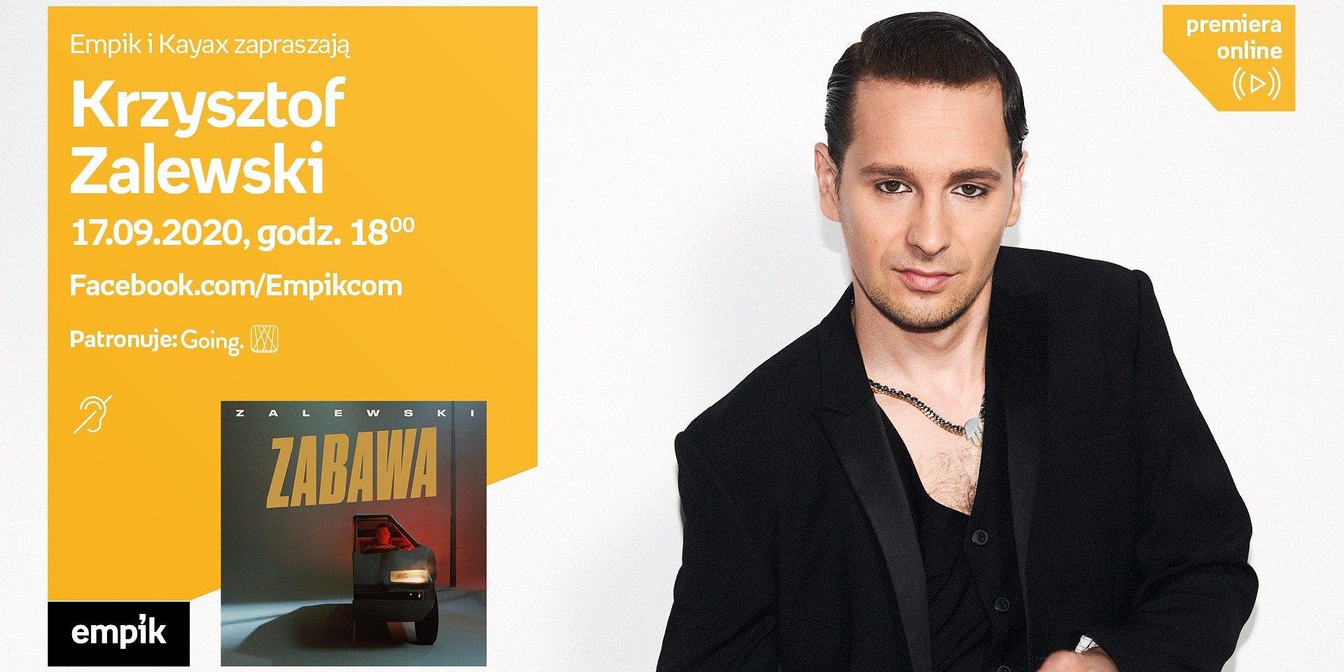 Spotkania z cyklu #premieraonline z Camillą Läckberg, Krzysztofem Zalewskim i Jakubem Małeckim