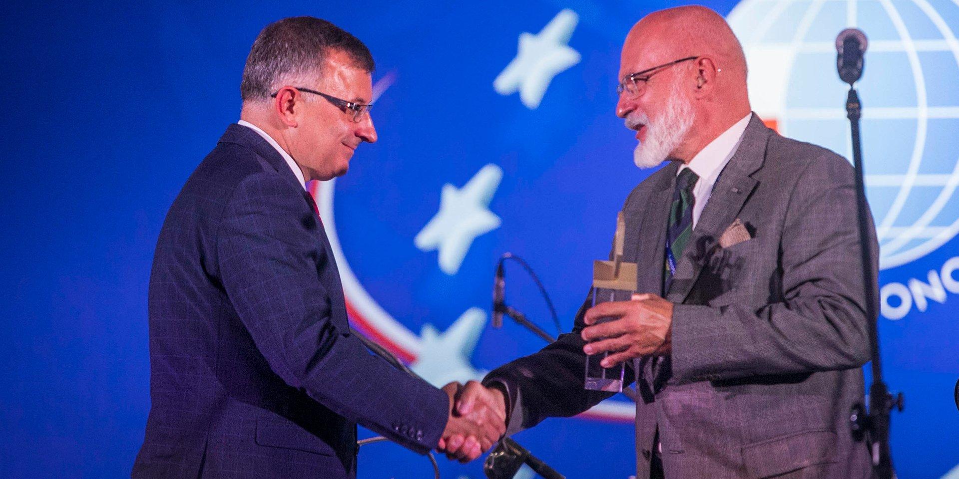 Zbigniew Jagiełło laureatem Nagrody Gospodarczej SGH