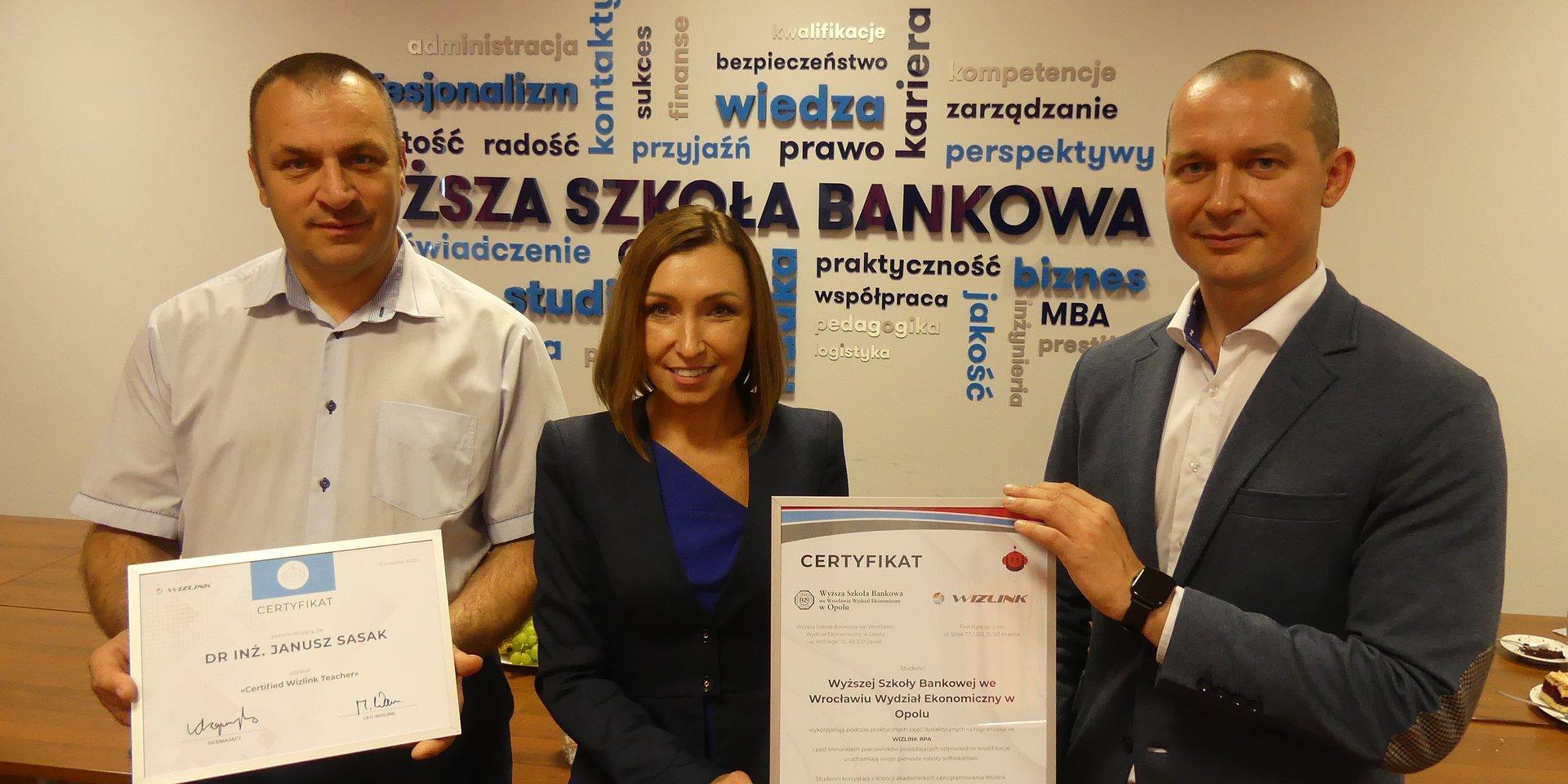 Prestiżowy certyfikat dla WSB w Opolu. Studenci będą trenować… roboty
