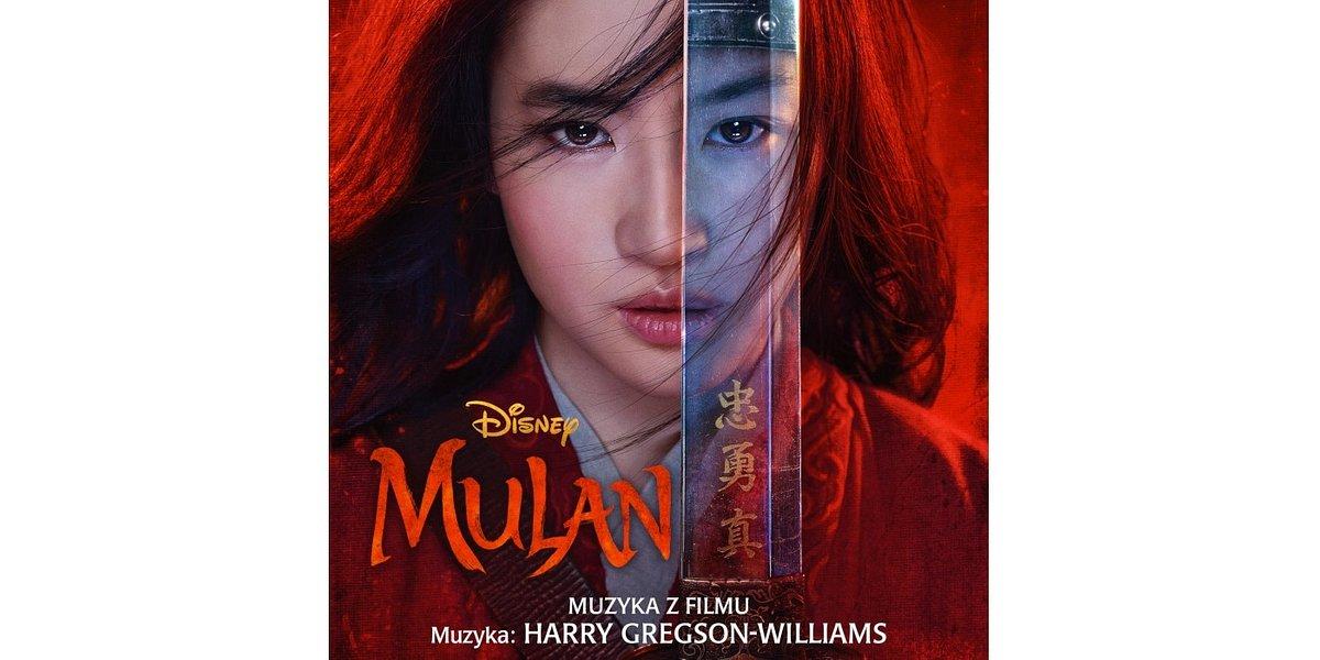 """Muzyka z filmu """"Mulan"""" już dostępna!"""