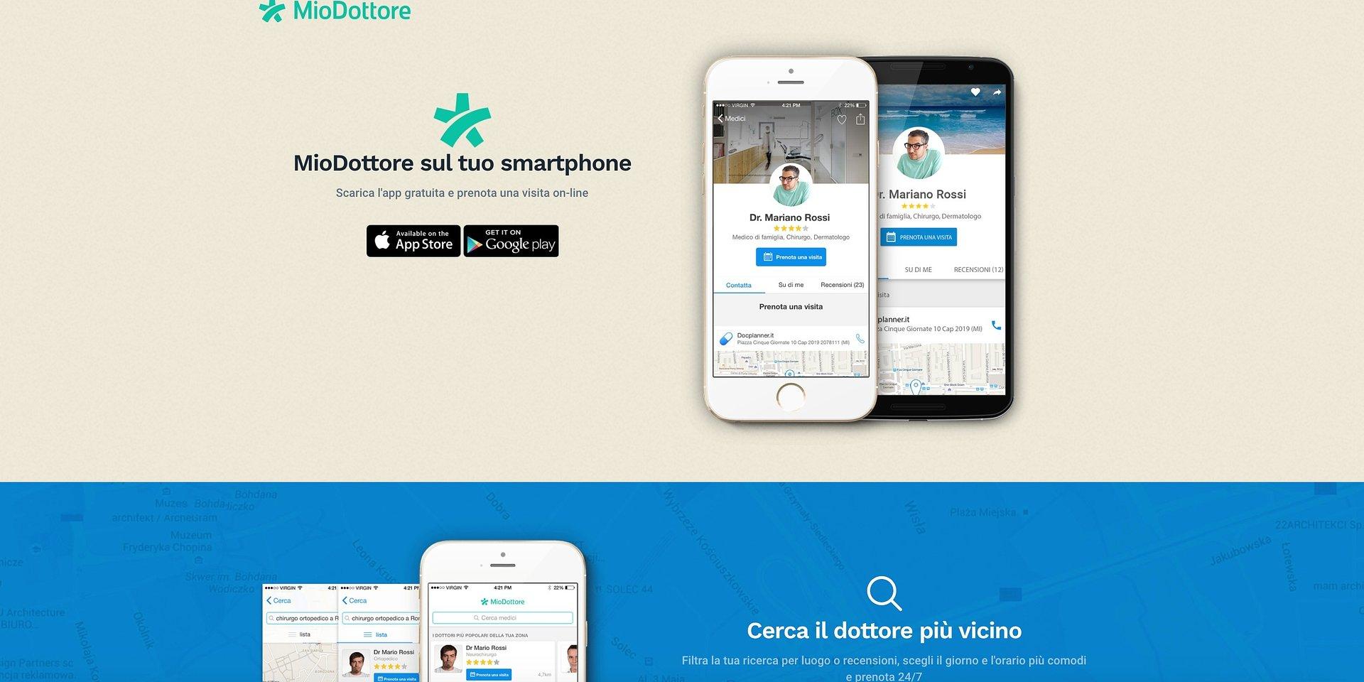 MioDottore presenta la nuova app dedicata ai pazienti
