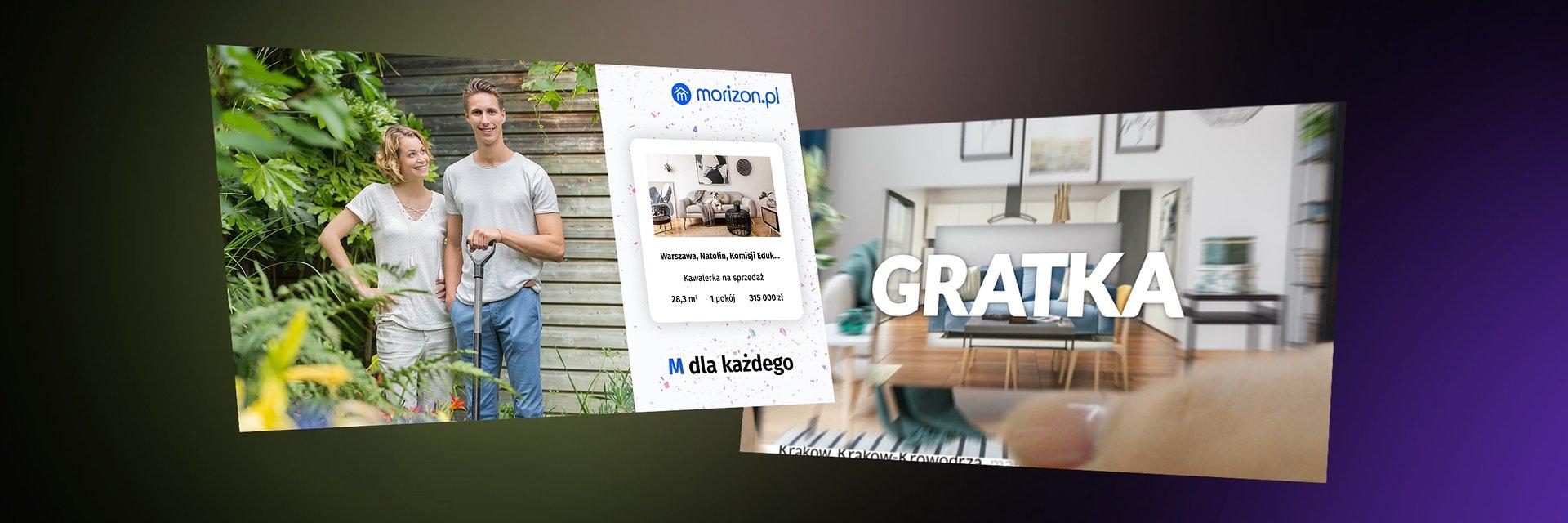 FENO obsługuje serwisy ogłoszeniowe gratka.pl i morizon.pl