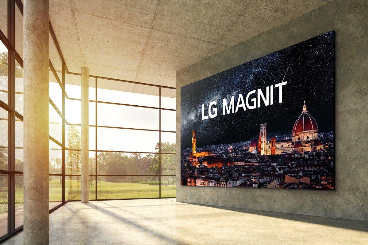 Nowy wyświetlacz Micro LED firmy LG wyznacza nowe standardy na rynku ekranów komercyjnych