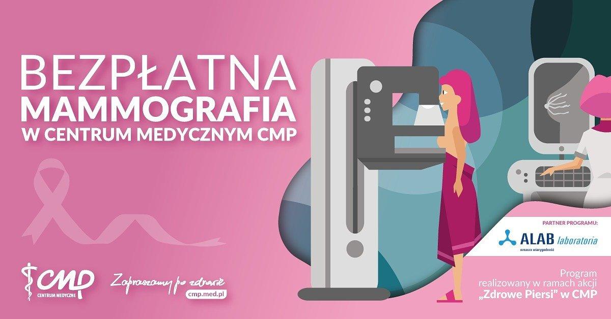 Bezpłatne badania mammograficzne w 4 lokalizacjach w Warszawie