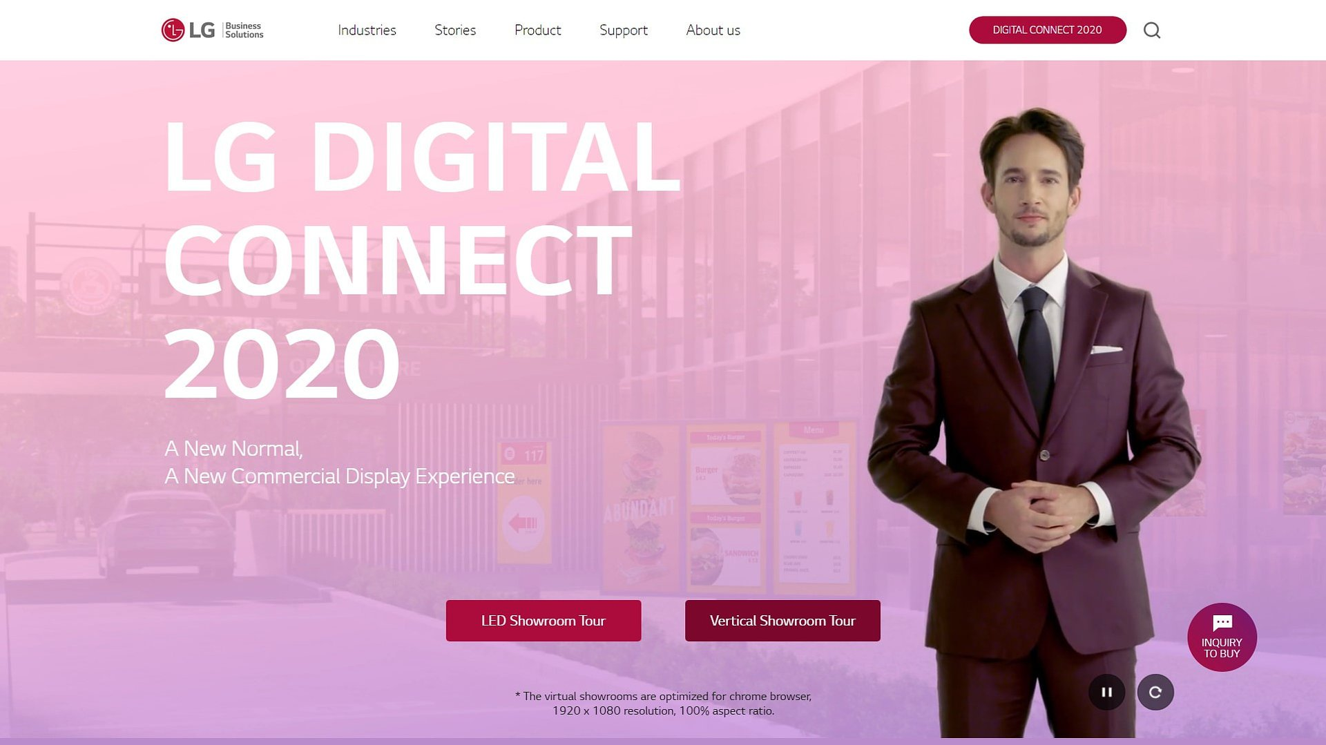 Poznaj najnowsze rozwiązania digital signage firmy LG dzięki platformie Digital Connect 2020