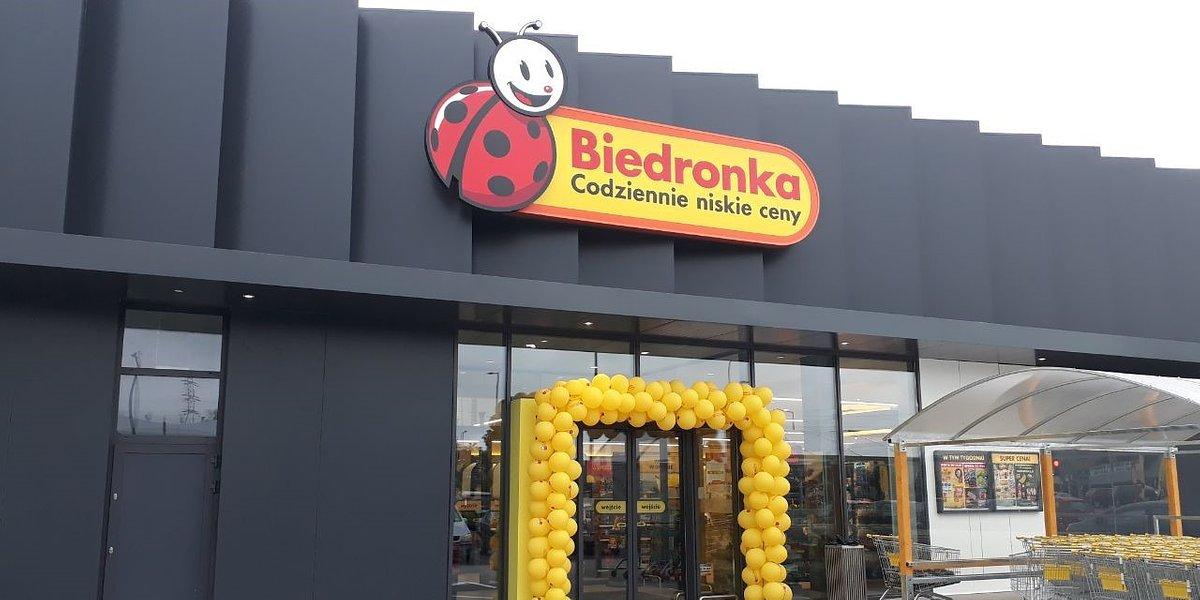Biedronka zaprasza na wygodne zakupy w Białymstoku