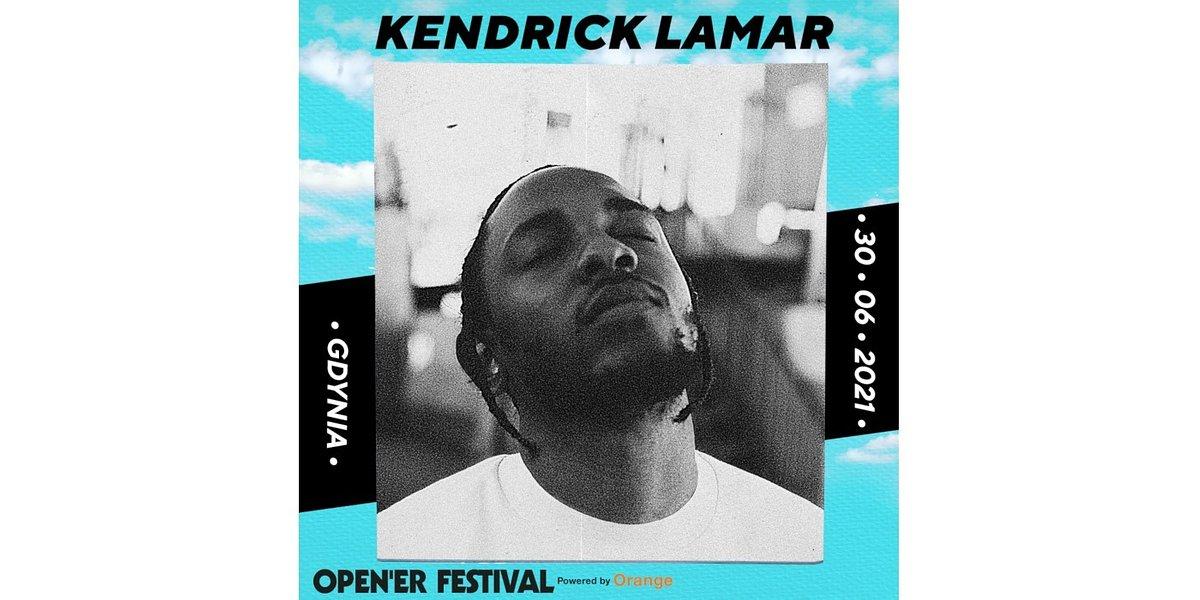 Open'er 2021: Kendrick Lamar headlinerem festiwalu