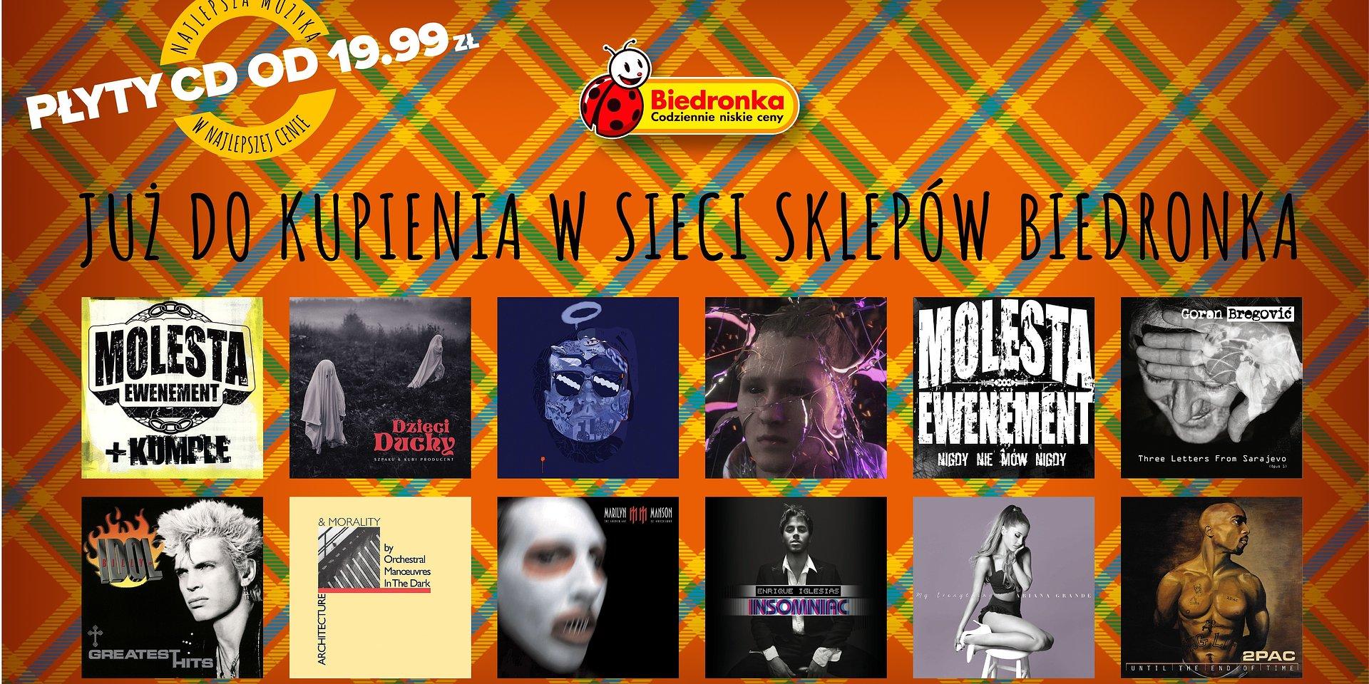 Polskie rapowe płyty ponownie w Biedronce