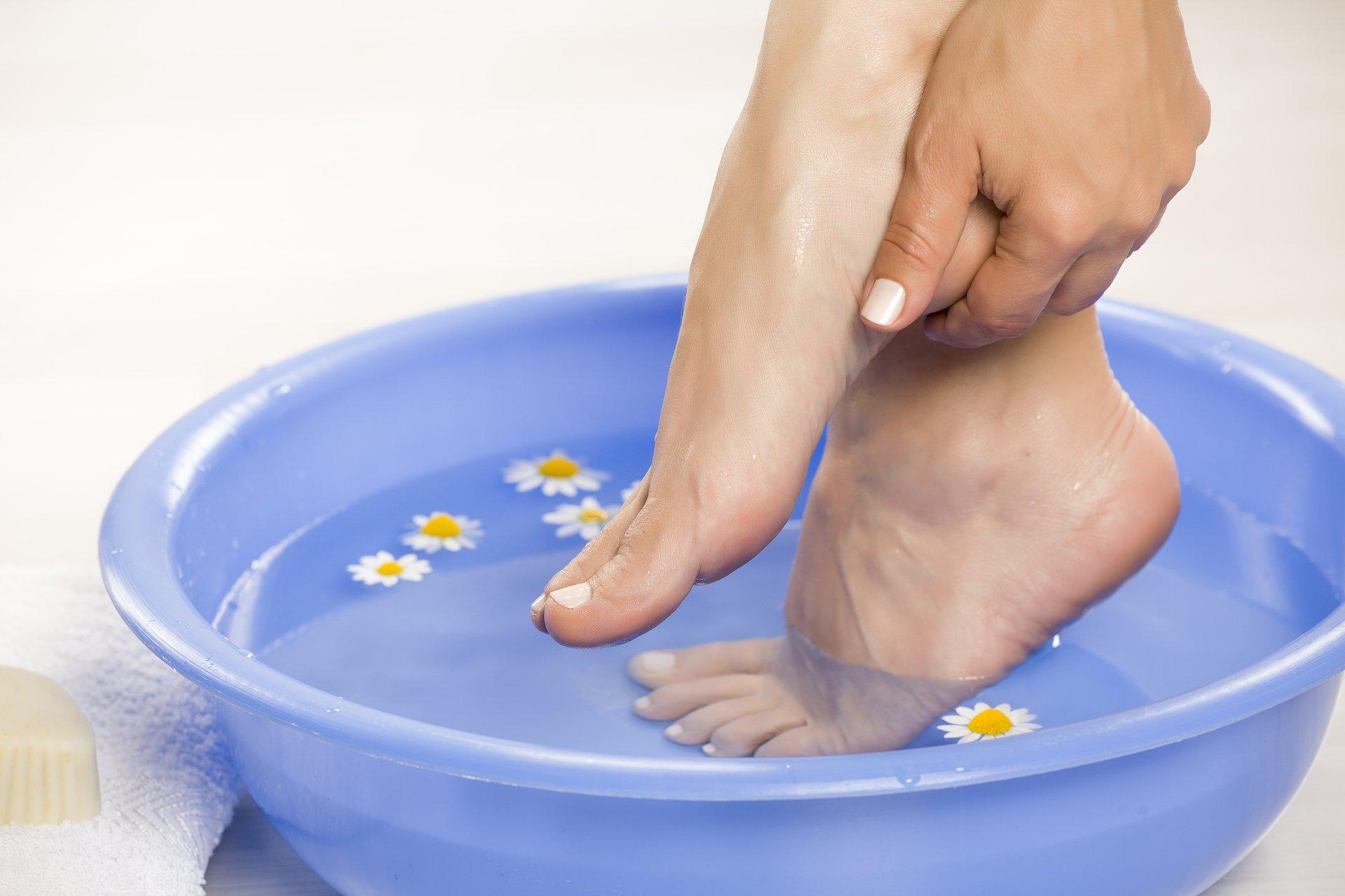 Ozonowana woda wspomaga leczenie grzybicy stóp