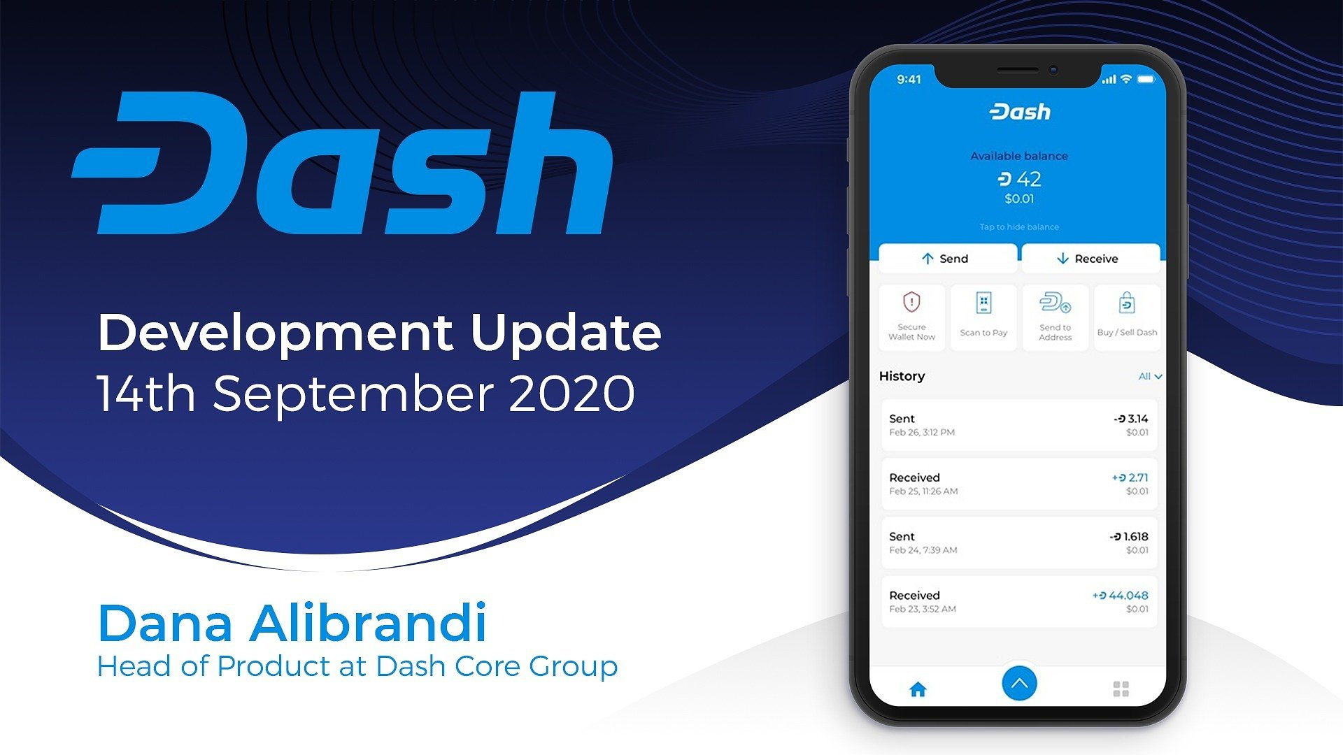 Dash Product Update - September 14th