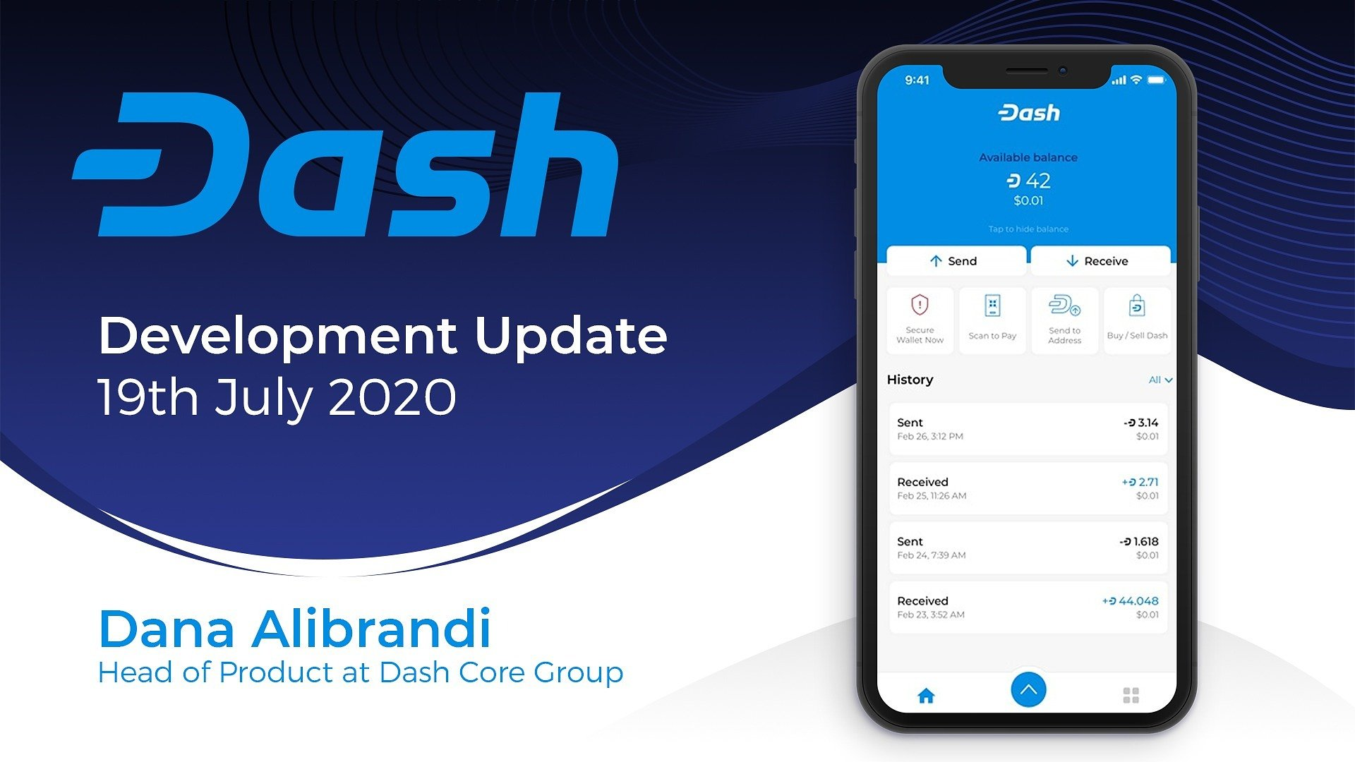 Dash Product Update — July 19th, 2020