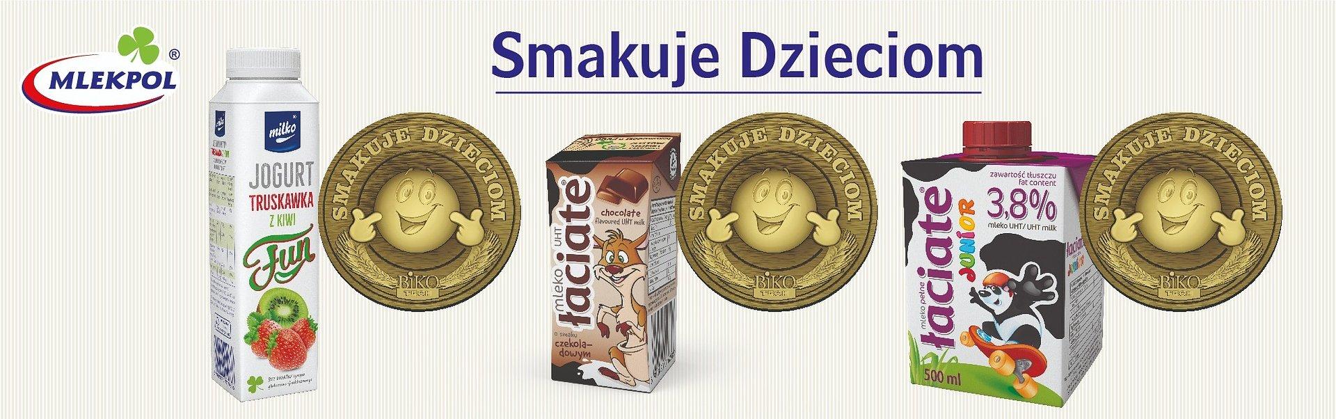 Najmłodsi pokochali smaki Mlekpolu, który zdobywa trzy złote medale w konkursie Smakuje Dzieciom 2020