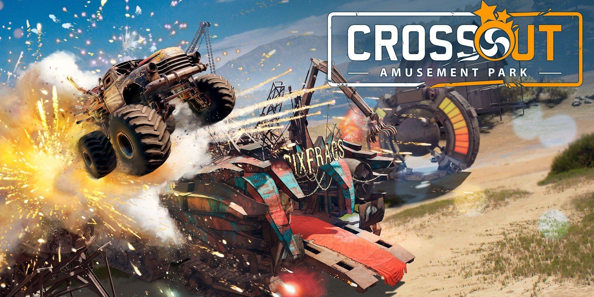 Aktualizácia hry Crossout obsahuje funkciu budovania poapokalyptického zábavného parku